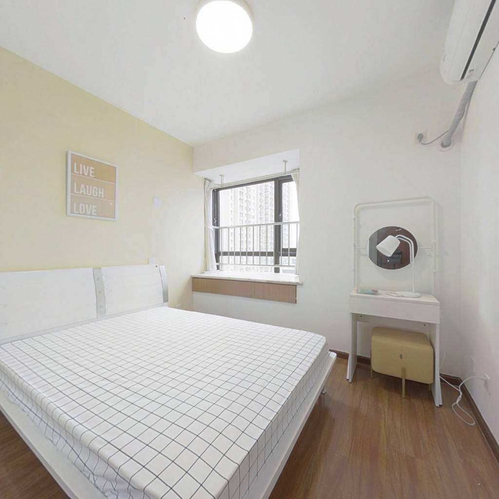 合租·金牛万达C组团 4室1厅 南卧室图