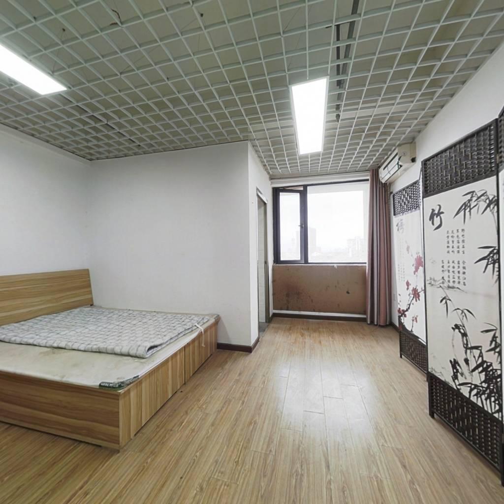 汉北广场  小面积公寓  可住可办公
