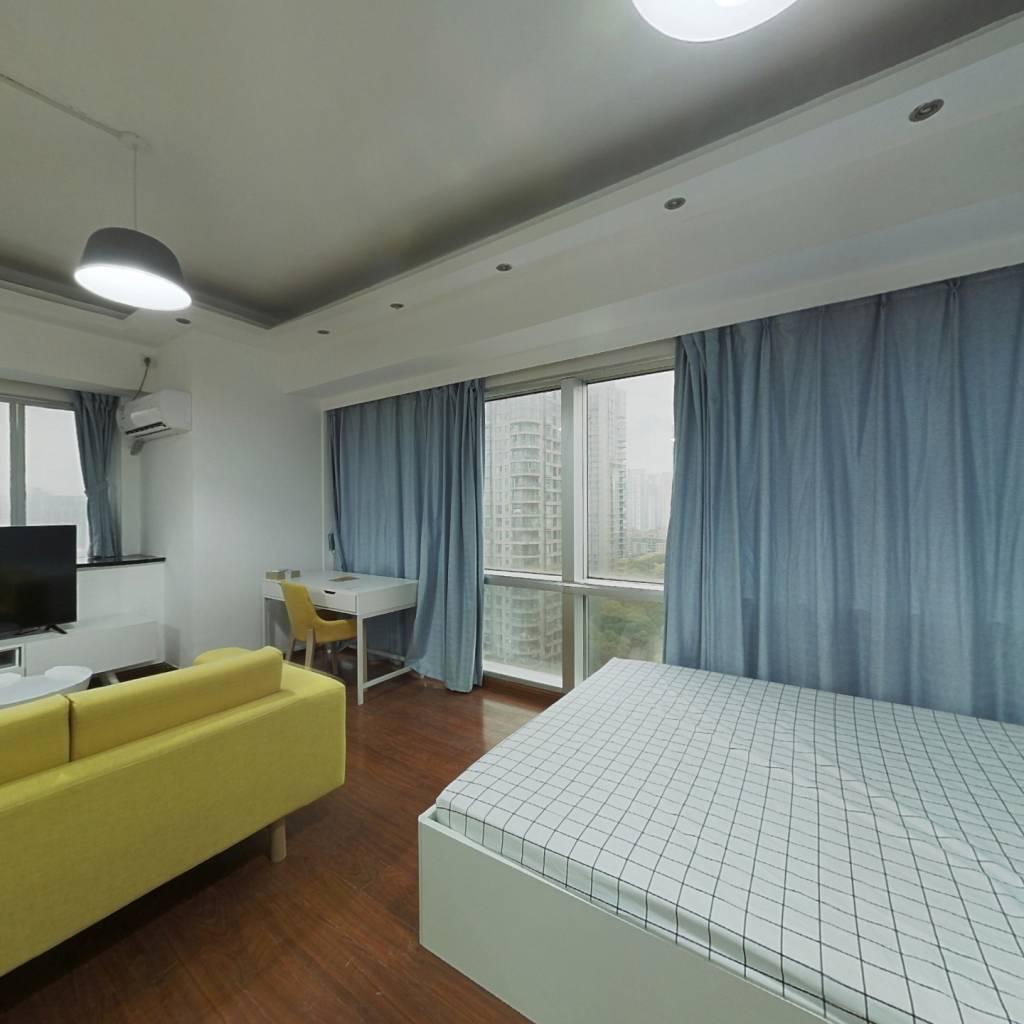 整租·汤臣商务中心 1室1厅 西卧室图