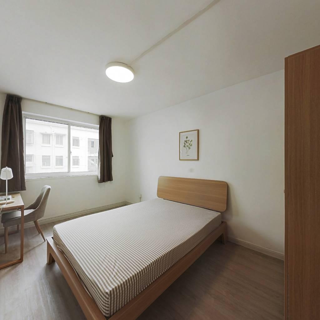 合租·朱家门小区 3室1厅 北卧室图