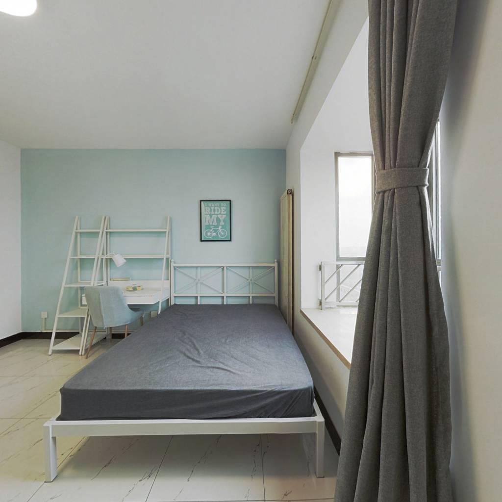 合租·优筑 3室1厅 东卧室图
