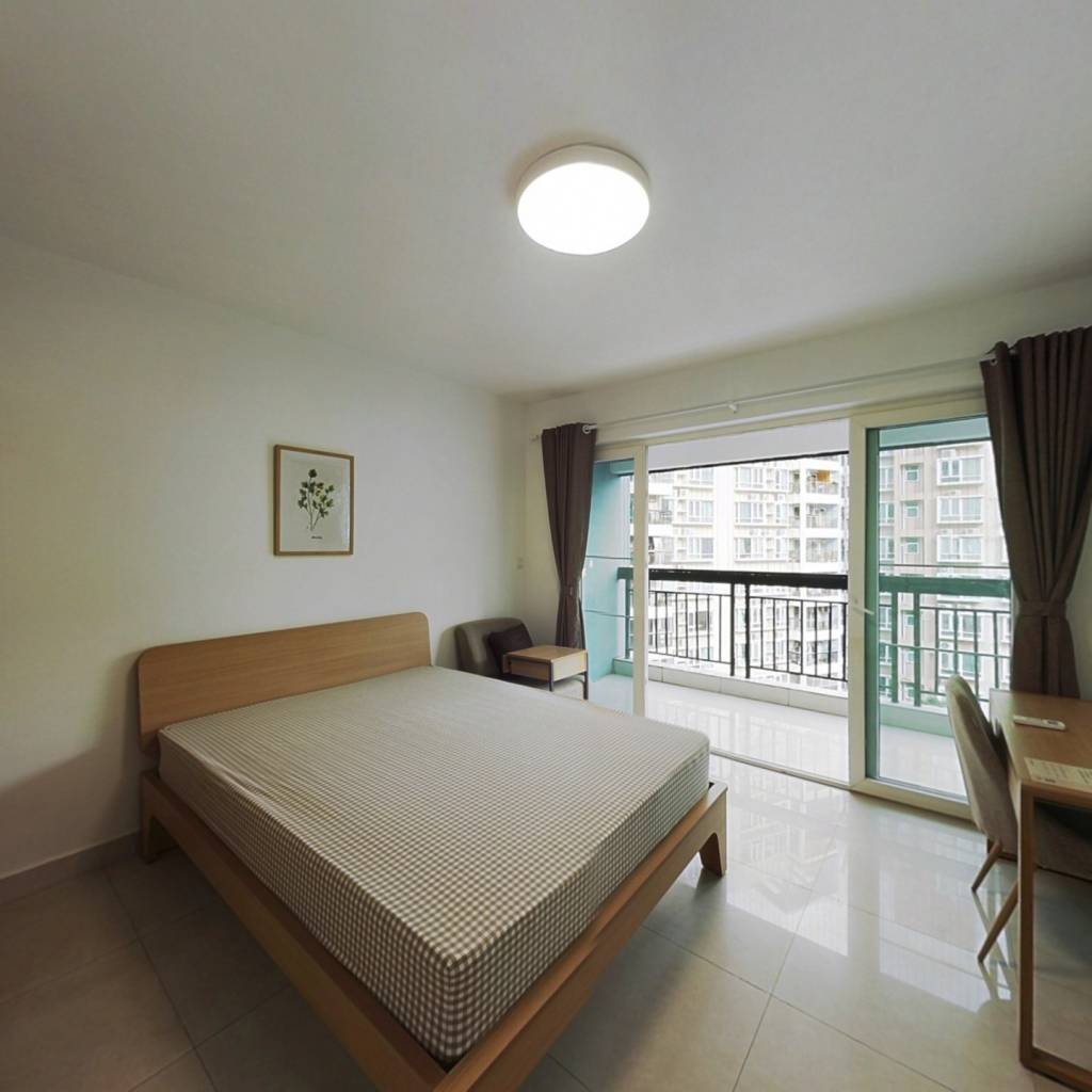 合租·俊峰丽舍 4室1厅 南卧室图