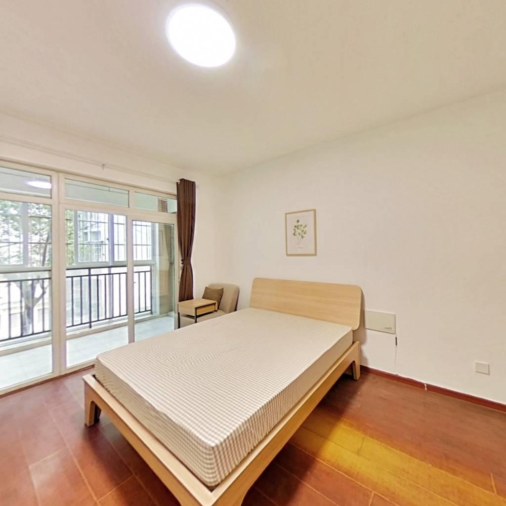 合租·清水路苑 3室1厅 西南卧室图