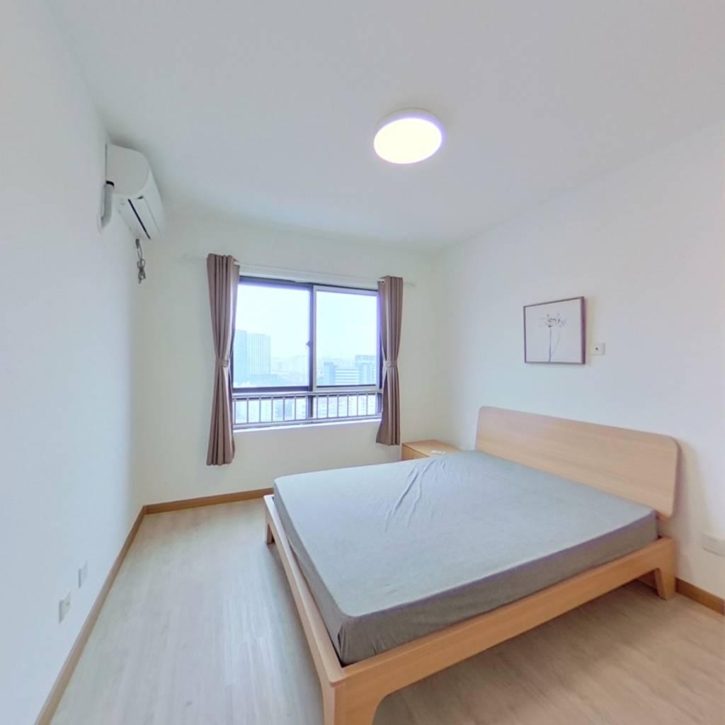 整租·内江公寓 2室1厅 南卧室图