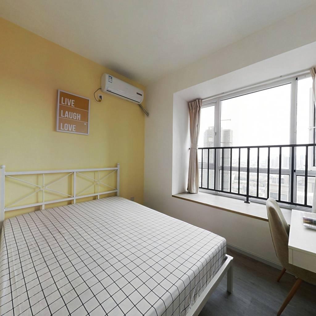 合租·祥和佳苑(高新) 4室1厅 南卧室图