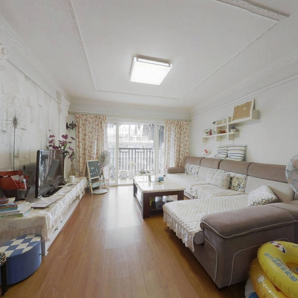 户型方正三居室,视野宽阔,采光好,保养好.
