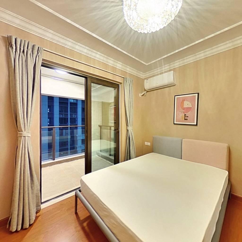 合租·恒大天府半岛4期 4室1厅 西卧室图