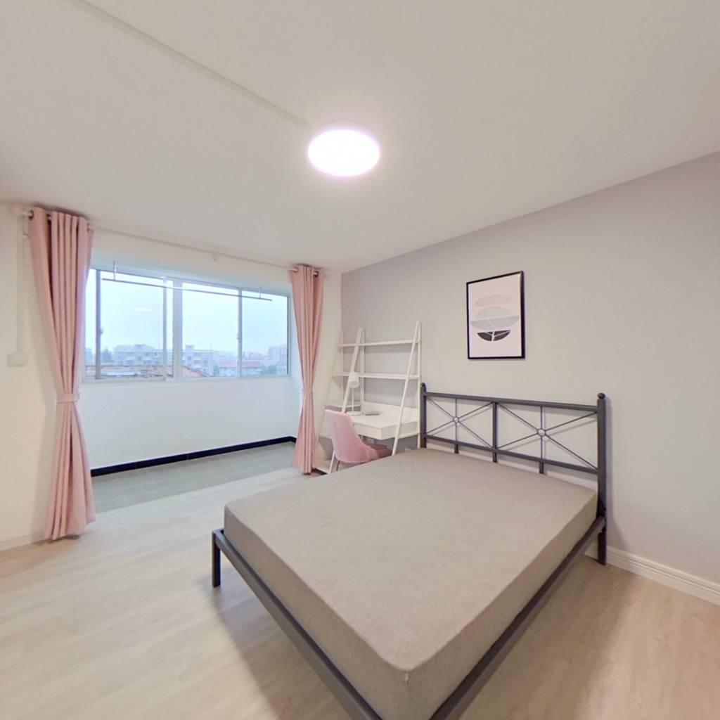 合租·张泾小区 3室1厅 南卧室图
