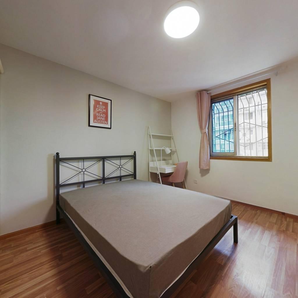 合租·祥和里166号 3室1厅 西北卧室图