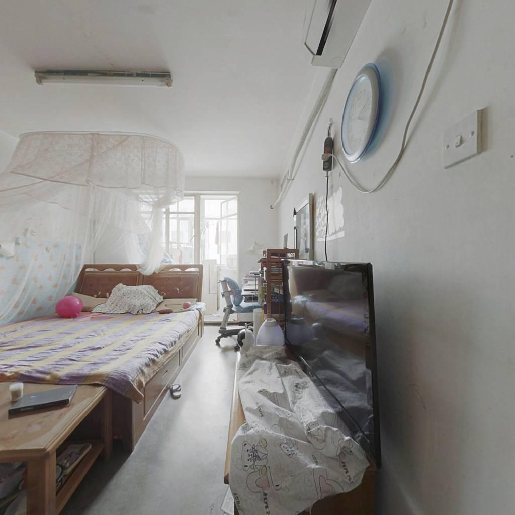 地质大学,正规一居室,南向不临街,看房方便!
