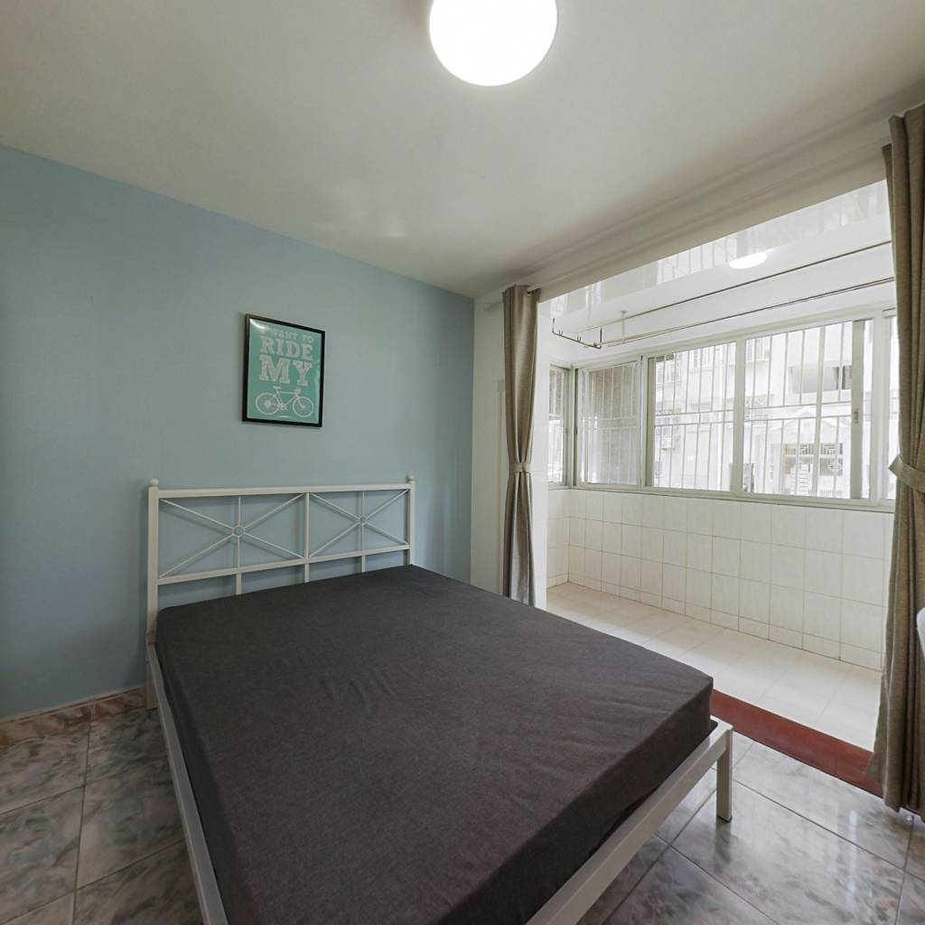 合租·桃源村一期 4室1厅 南卧室图