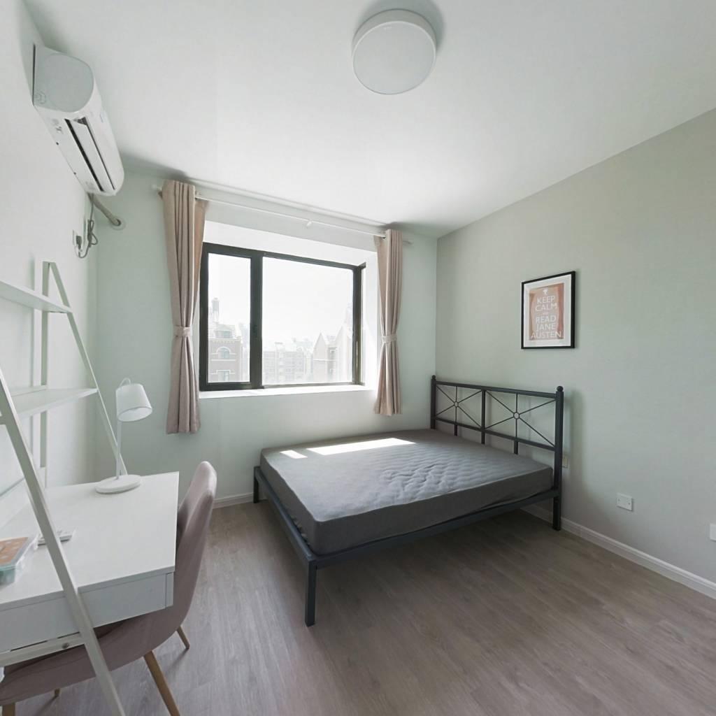 合租·君悦花苑 3室1厅 南卧室图