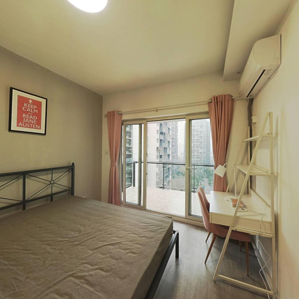 合租·金科一城 3室1厅 北卧室图