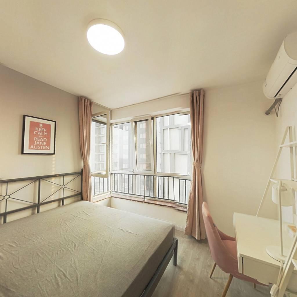 合租·北纬40度二期 3室1厅 东卧室图
