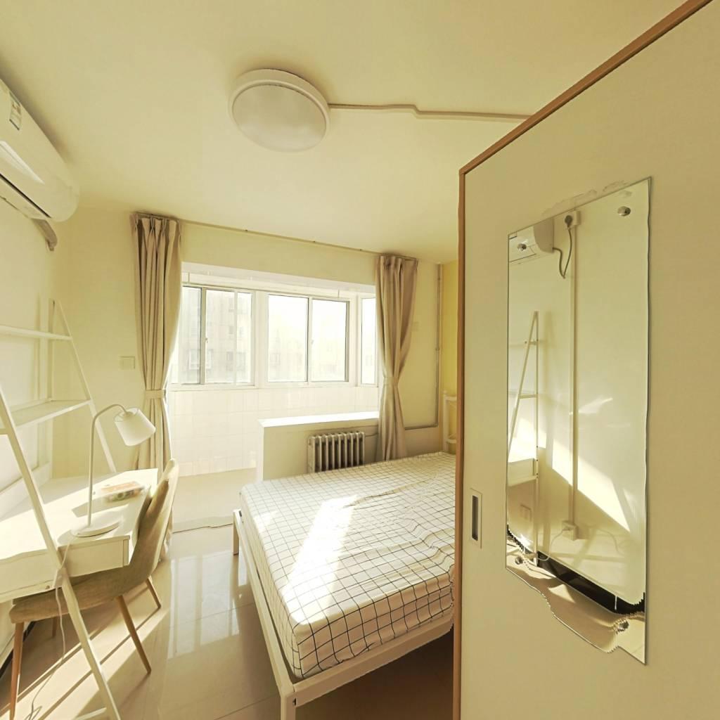 合租·芍药居北里 3室1厅 南卧室图