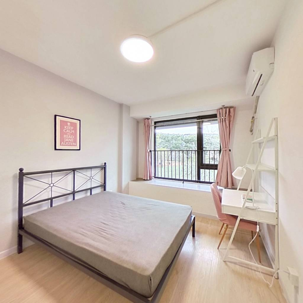 合租·融创河滨之城雨澜轩 3室1厅 南卧室图