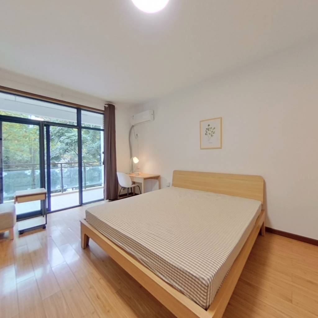 合租·金地阳光城小区 4室1厅 南卧室图