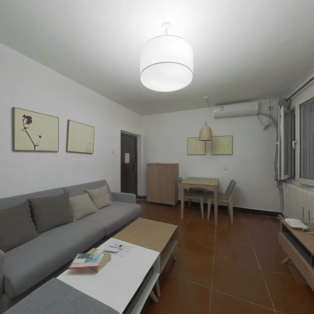 整租·甘露晴苑 2室1厅 东北卧室图