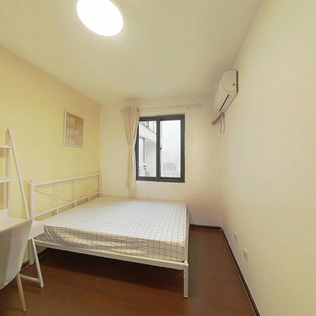 合租·上行汇锦 4室1厅 南卧室图