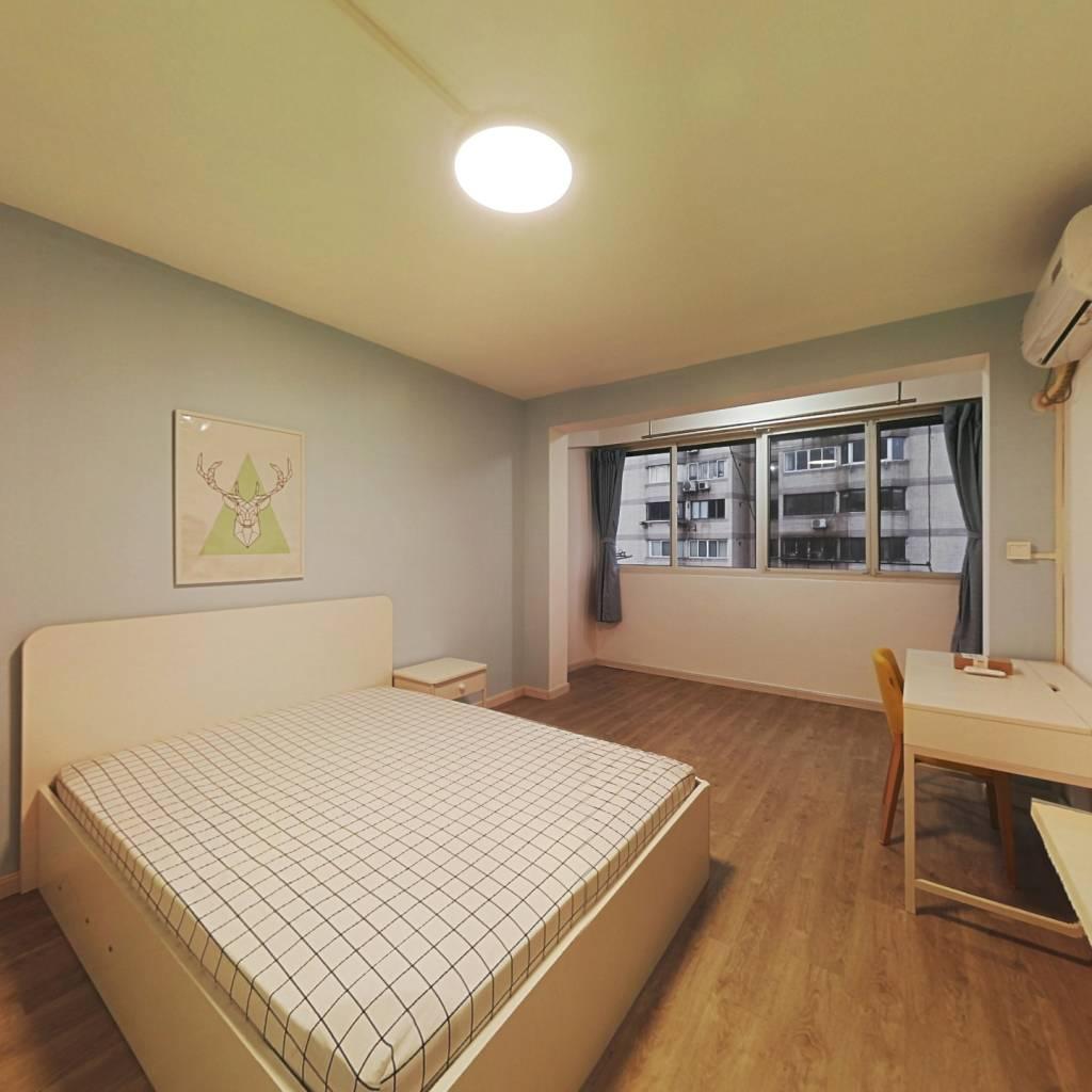 整租·大明小区 1室1厅 南卧室图