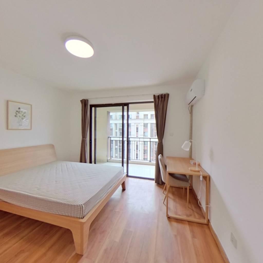 合租·中海西溪华府 4室1厅 北卧室图
