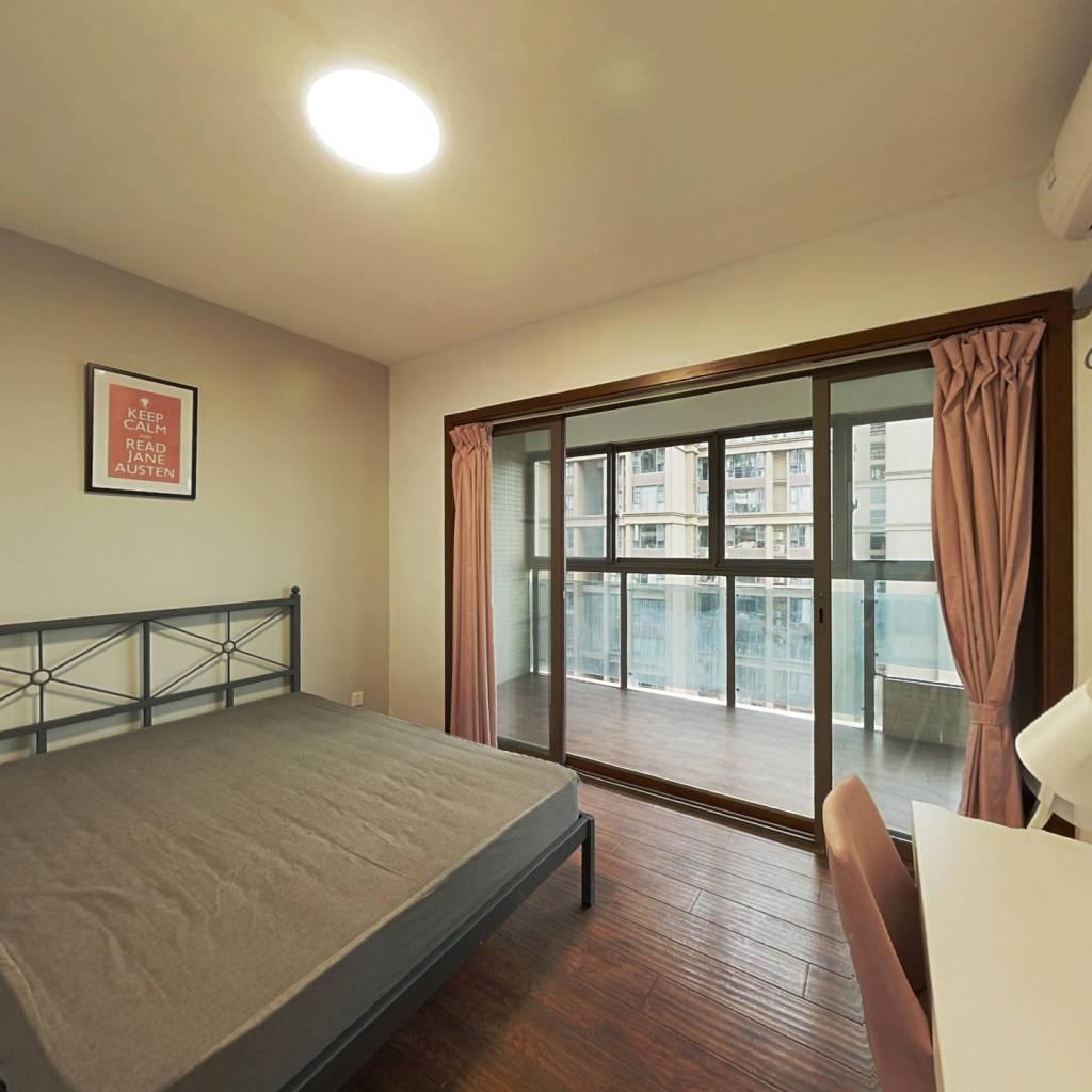 合租·望江橡树林一期 3室1厅 西北卧室图