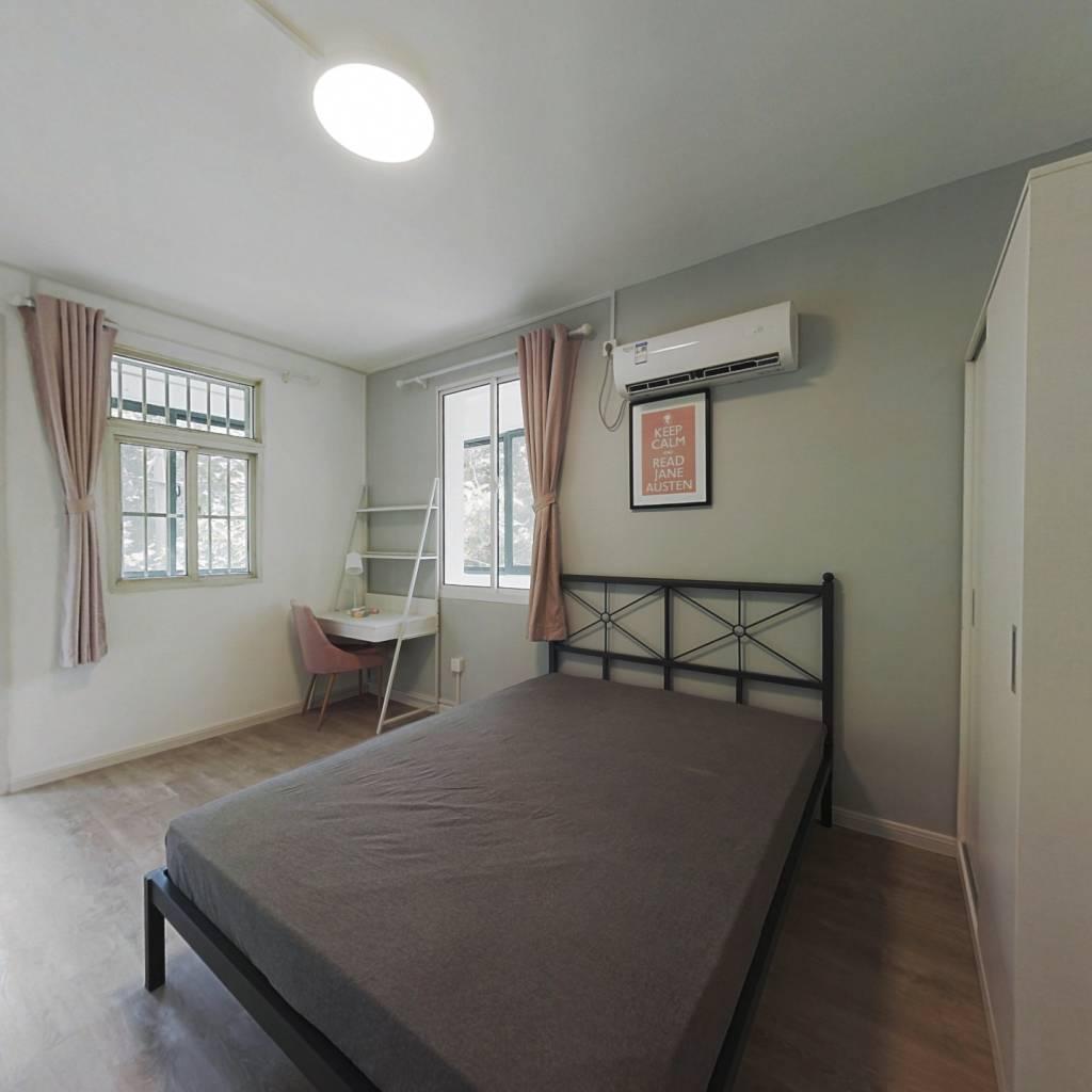 合租·萍聚村 3室1厅 北卧室图