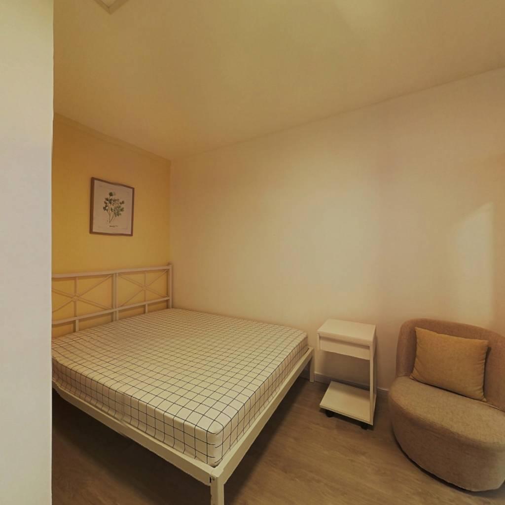 合租·赤一小区 2室1厅 南卧室图