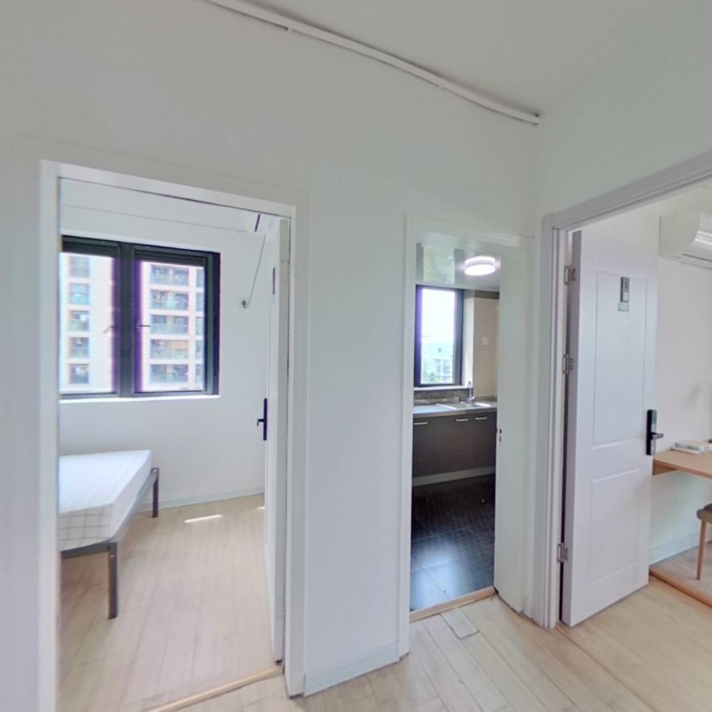 合租·海棠公寓 4室1厅 南卧室图