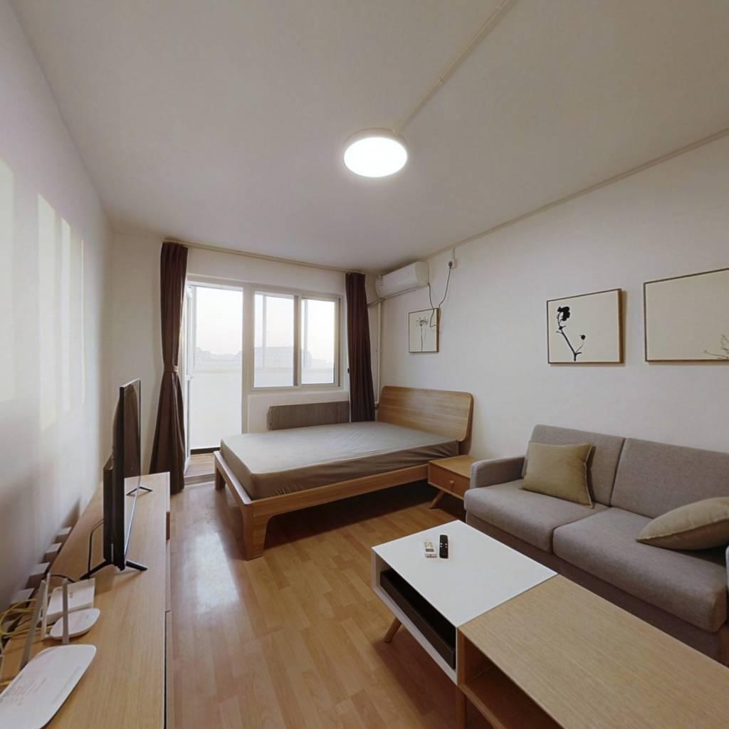 整租·稻香园西里 1室1厅 南卧室图