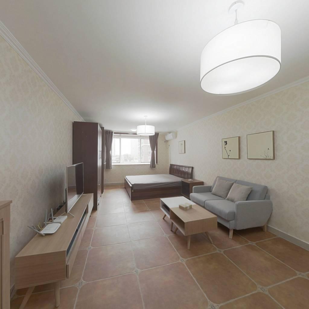 整租·北花园小区3号院 1室1厅 南卧室图
