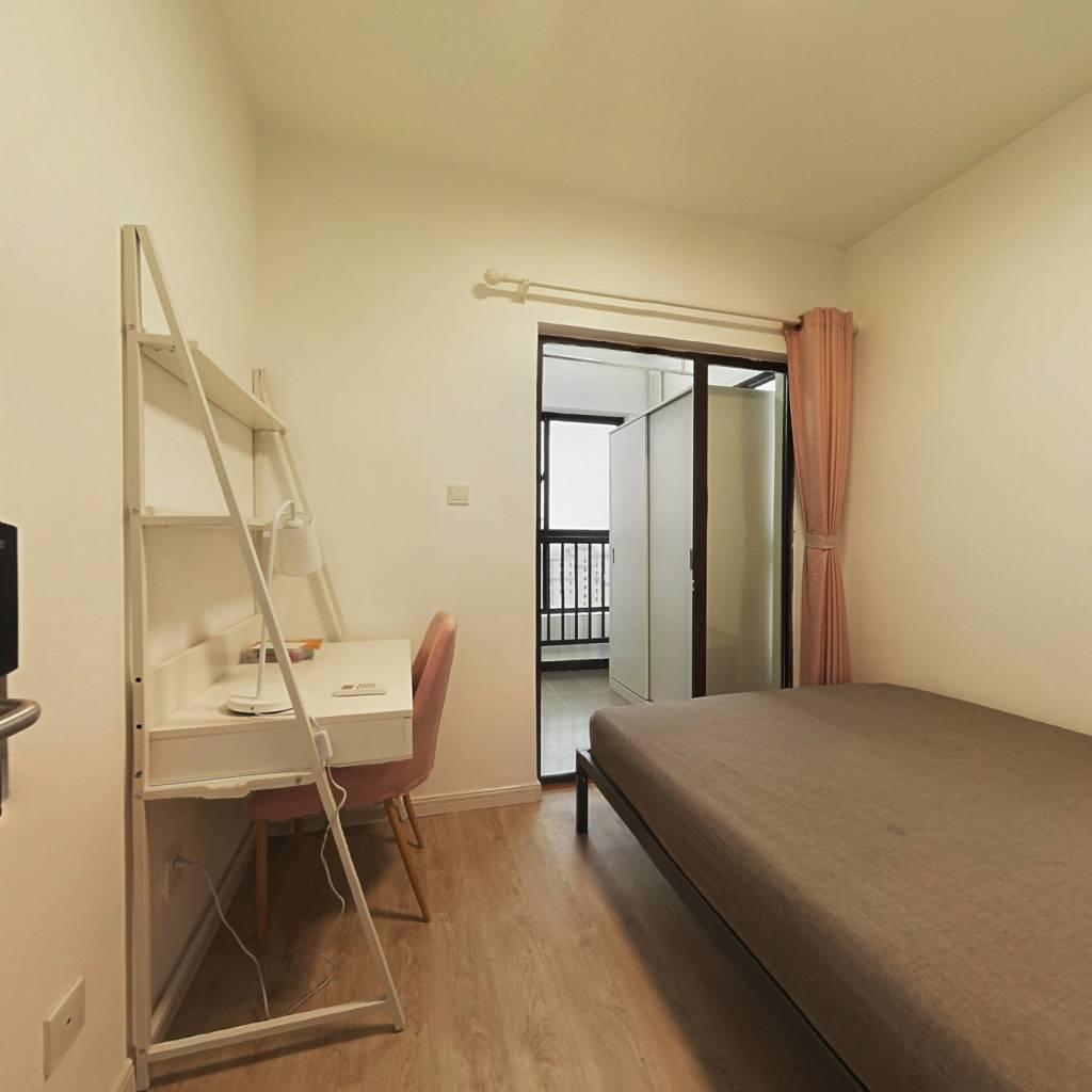 合租·新凯城银杏苑 3室1厅 南卧室图