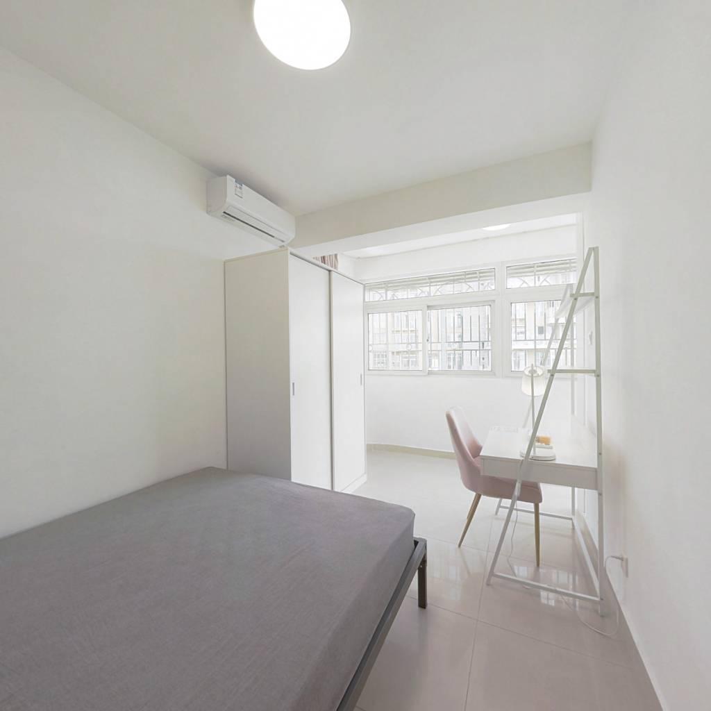 合租·临园大厦 3室1厅 东卧室图