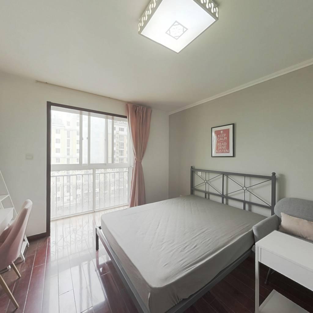 合租·星河城西区 4室1厅 北卧室图