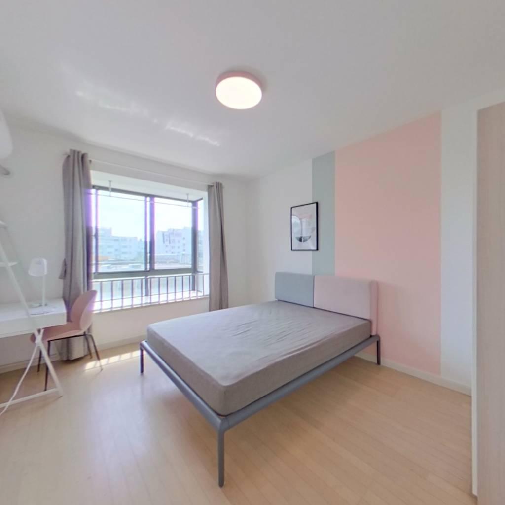合租·春江花悦园 3室1厅 北卧室图