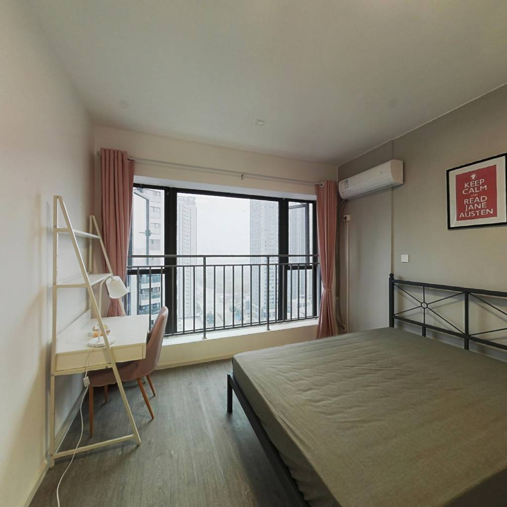 合租·绿地468云玺五期 3室1厅 东南卧室图