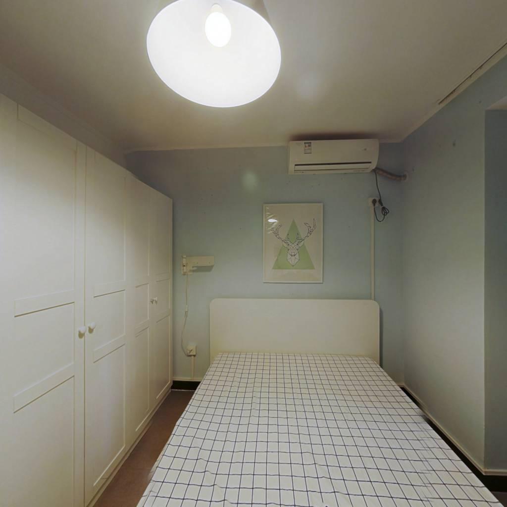 整租·建宁大厦 2室1厅 西南卧室图