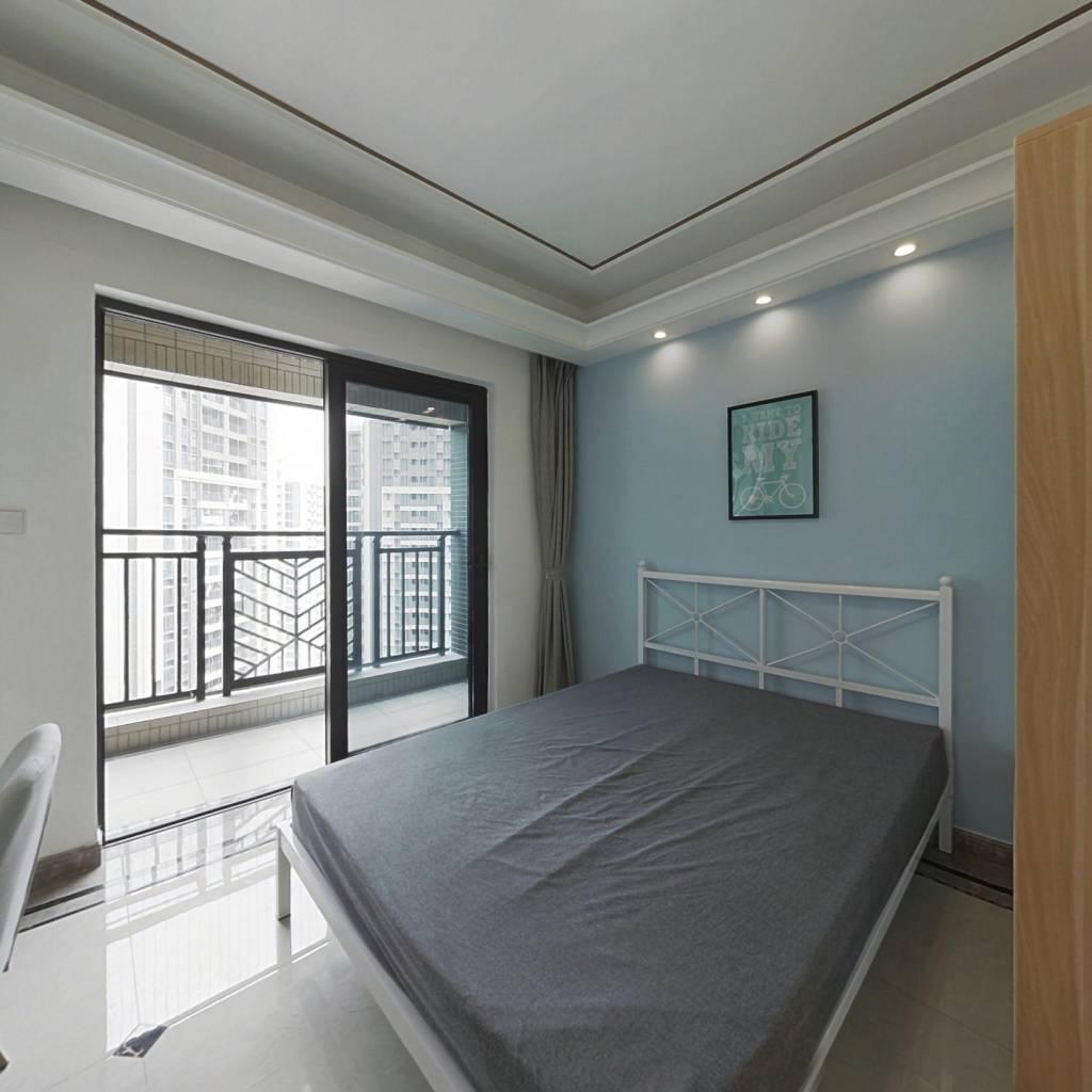 合租·中海锦御华庭(B区) 4室1厅 北卧室图
