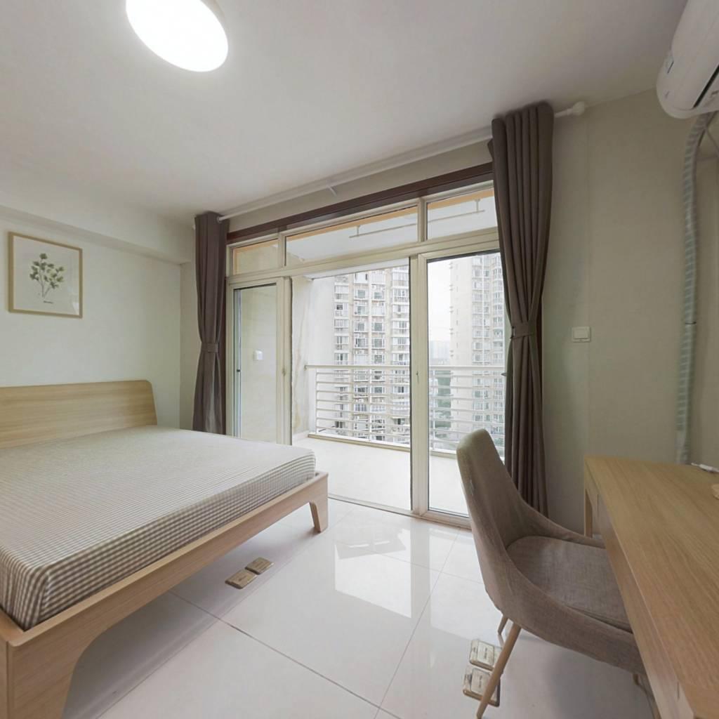 合租·中房蓝水湾 4室1厅 南卧室图