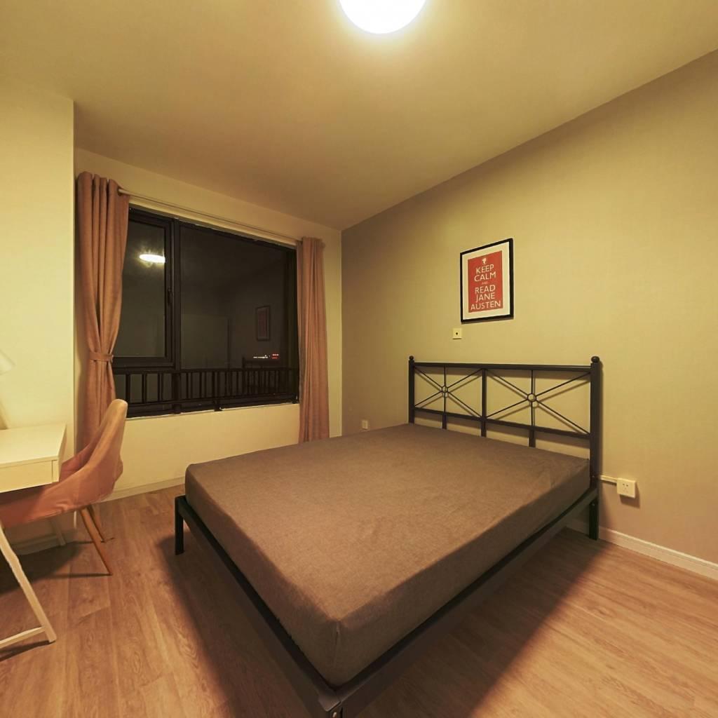 合租·新天地荻泾花园 3室1厅 南卧室图