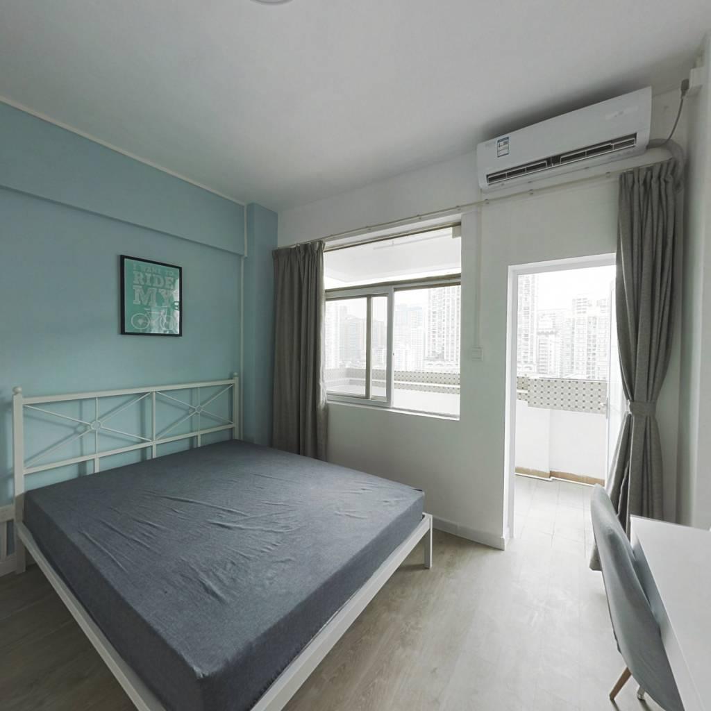 合租·侨怡苑 3室1厅 北卧室图