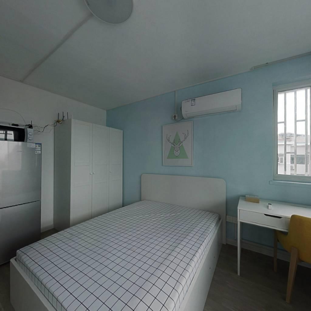 整租·芝巷小区 1室1厅 西卧室图