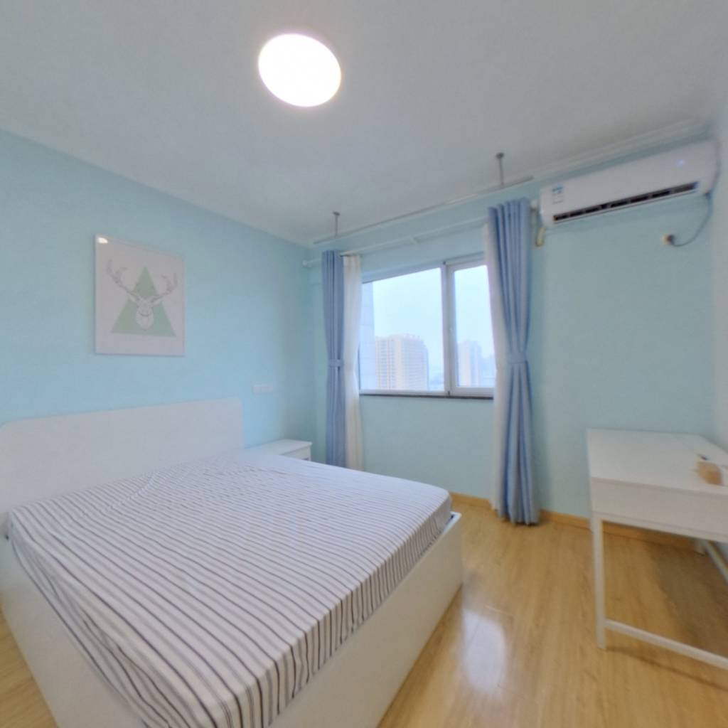 整租·光谷汇景 1室2厅 西卧室图