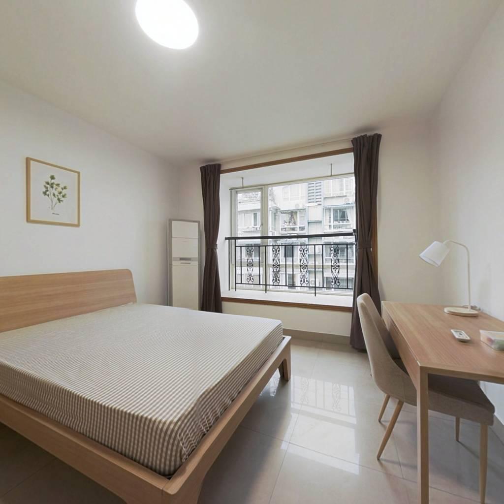 合租·城市绿舟花园 3室1厅 北卧室图
