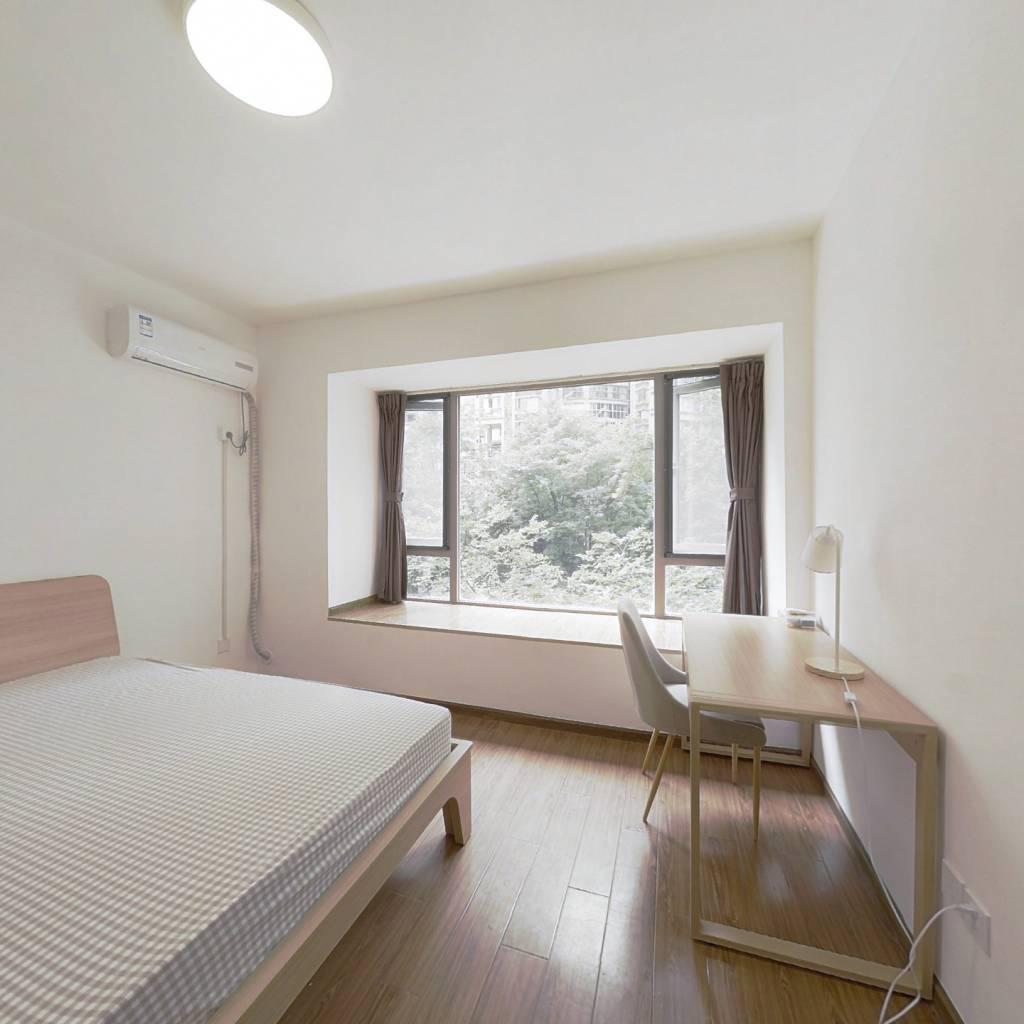 合租·中海兰庭 4室1厅 南卧室图
