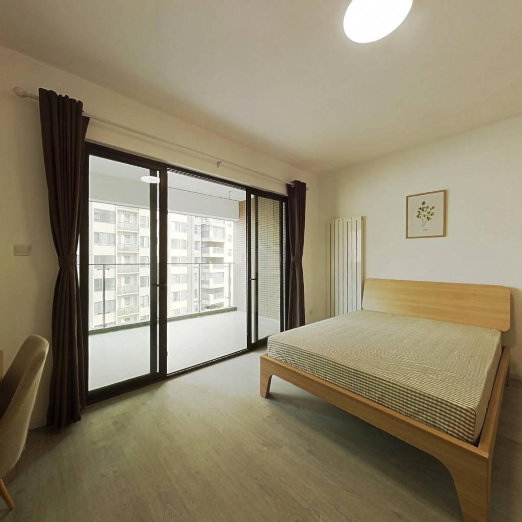 合租·恒大天府半岛二期 4室1厅 南卧室图