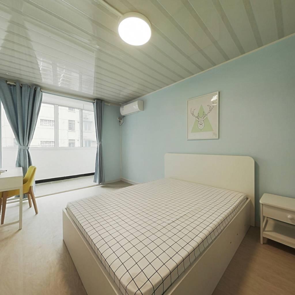 整租·济阳三村 1室1厅 南卧室图