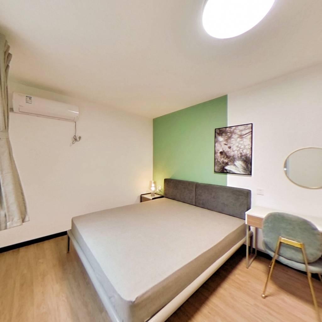 整租·田林体育公寓 2室1厅 西卧室图