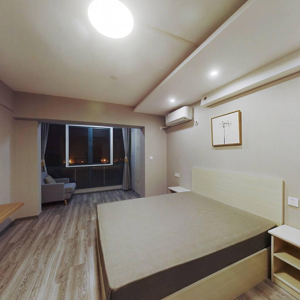 整租·碧海现代苑 1室1厅 南卧室图