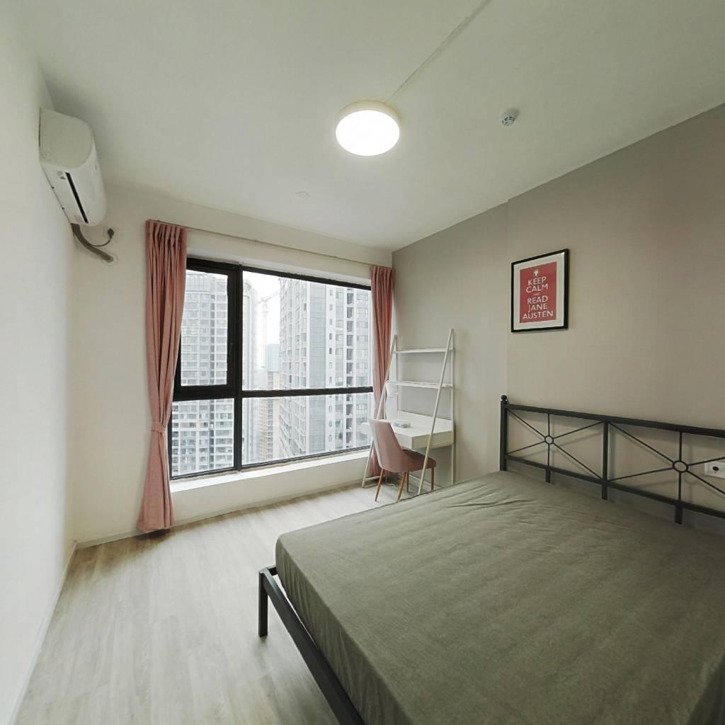 合租·绿地GIC贰期 4室1厅 北卧室图